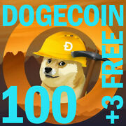 Dogecoindoge Mining Contract 1-hour   Get 100 Dogecoins Guaranteed +3 Free...