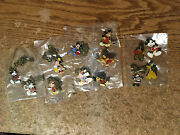 13x Vintage Lot Of Mickey Mouse Necklace And Pins Minnie Mouse Pluto/wrongway052