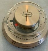 Vintage Lincoln Barometer Honeywell Weather Forecaster In Box Rare Ford