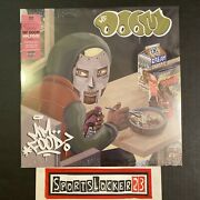 Mf Doom - Mm..food Pink And Green Colored Vinyl 2xlp Tip-on Jacket - Brand New 🔥