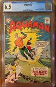 Aquaman 6 Cgc 6.5 Quisp Appearance 1st App Of Quirp And Quink Free Shipping