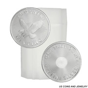 Roll Of Generic 1 Troy Oz .999 Fine Silver Random Mint And Design 20 Rounds