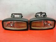 Vintage Pair Of Car Or Truck 12v Fog Lights 1970and039s 1980and039s