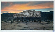 Jr - Death Valley Bill Board / Signed And Numbered Lithograph Print - Edition /180