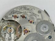 Rare Waltham Nickel And Gold 1872 Amand039n Grade 16 Jewel Watch Movement And Dial Runs