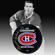 Maurice Richard Autographed Montreal Canadiens Puck