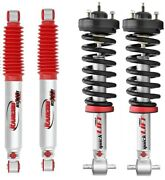 Rancho Quick Lift Front Leveling Struts + Rs9000xl Rear 2009-2013 Ford F-150 4wd