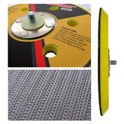 6andrdquo 150mm Dual Action Hook And Loop Backing Pad Orbital Sanding Polish Disc Plate