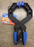 Bremen 4 Ratcheting Hand Clamp Riveted Swivel Pads Woodworking Clamping 2 Piece