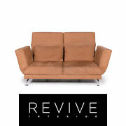 Branduumlhl And Sippold Moule Fabric Sofa Orange Two Seater Relaxfunktion Function Couch