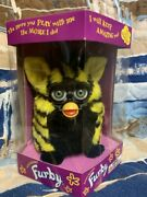 1998 Bumble Bee Furby, Black And Yellow, New In Sealed Box