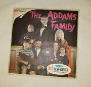Vintage Addams Family View Master Reels And Booklet Rare 149.99