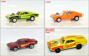 Hot Wheels 1970 Dodge Charger R/t Custom Real Riders Loose