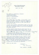 Rose Fitzgerald Kennedy Signed Letter 1963 Re John F. Kennedy / Autographed