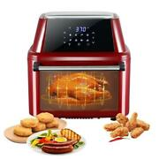 1800w 16l Capacity Air Fryer Oven Xl Dehydrator Grill Rotisserie 8 Accessories