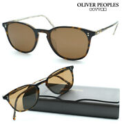 Oliver Peoples Sunglasses Ov5397su Col.166657 Finley Vintage Sun Made In Italy
