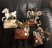 The San Francisco Music Box Company Carousel Horse Limited Edition 4