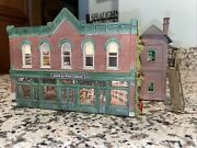 Custom Built And Decorated City Building Dpm Model Weathered And Detailed Ho Scale