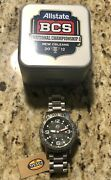 2012 Bcs National Championship Alabama Football Player Issued Bowl Watch W/case