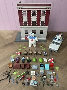 Playmobil Ghostbusters Fire Station Car Stay Puft Figures Accessories And More