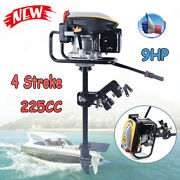 9hp 4 Stroke Outboard Motor Fishing Boat Engine Air Cooling System 225cc And Tci