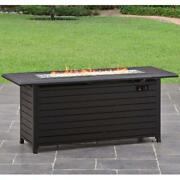 Sleek 57 Outdoor Pool Patio Porch Gas Lp Fire Pit Better Homes And Gardens New