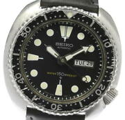 Seiko 3rd Diver 150 M 6306-7001 Day Date Automatic Men's Watch_561790