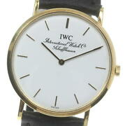 18k Solid Gold Portofino Cal.1862 White Dial Hand Winding Menand039s Watch_613947