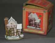 David Winter Cottages Christmas Ornaments 92 Suffolk House D