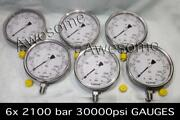 @stainless Steel High Pressure Guage 2100 Bar/30000 Psi.high Pressure Guage 12ps