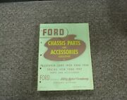 1932 Ford Model B Chassis Parts And Accessories Catalog Manual