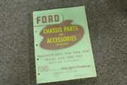 1928-1931 Ford Model A Chassis Parts And Accessories Catalog Manual 1929 1930