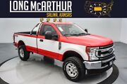 2021 Ford F-250 Highboy Lifted Super Duty 4x4 7.3l V8 Reg Cab Two Tone Offroad Tires Kc Day-lighter Lights Chase Rack