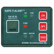 12 Volt Surface Mount Fume Fire And Flood Detector For Boats Rvs And More