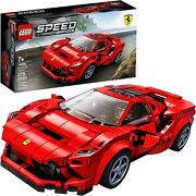 Lego Speed Champions 76895 Ferrari F8 Tributo Toy Cars For Kids Building Kit Fe