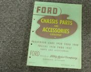 1942 Ford Model 21 A Deluxe Chassis Parts And Accessories Catalog Manual