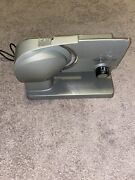 Chef's Choice 615a Meat And Food Slicer, Tilted Food Carriage, Removable Blade