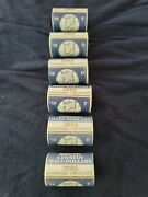6 Rolls Kennedy Half Dollars P And D 2001 2002 And 2005 Direct From Us Mintandnbsp