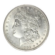 1903 Morgan Silver Dollar Raw Unc And Very White Www308
