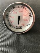 Bbq Grill Weber Grill Temperature Gauge Without Mounting Tab 2-3/8 Dia. Bcp6039
