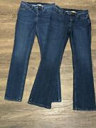 Duluth Trading Company Women's Bootcut And Skinny Jeans Size 6x33 One Each