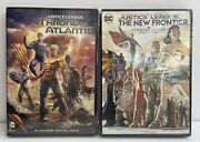 Dc Universe Justice League The New Frontier And Throne Of Atlantis Dvds New Sealed