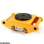 New Machinery Mover Heavy Machine 360° Rotation Dolly Equipment Roller Skates 6t