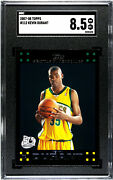 Rookie 2007-08 Topps 112 Kevin Durant Sgc Nm-mt+ 8.5 Seattle Supersonics Rc
