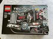 Lego Technic 8285 Tow Truck Silver Edition-ultra Rare-new/open Box-sealed Bags