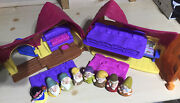 Fisher-price Little People Snow White And The Seven Dwarfs Cottage Playset