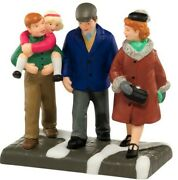 New Rare Cic Dept 56 A Family Holiday Tradition 4025248 Retired Village