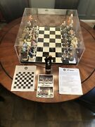 Rare- Doug Anderson Vintage Law And Order Le Chess Set
