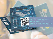 🐋 50 Crypto Stamp 3.0 Whale Unopened / Wal Ungeandoumlffnet Rare Presale Sold Out 🔥