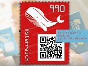 🔥 Crypto Stamp 3.0 Whale Red Edition / Wal Rot Neu Rare / Presale Sold Out 🔥